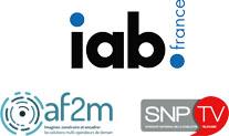 Logos af2m IAB SNPTV